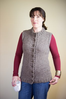 Cove (a fleece vest)