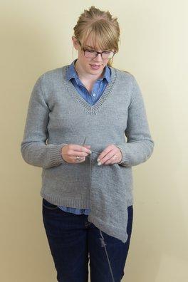 Firth (a v-neck pullover)