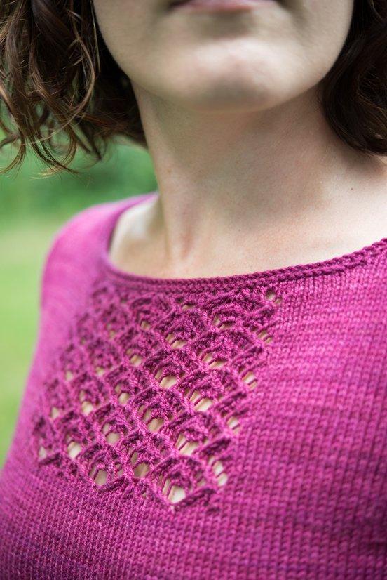 Shower Stitch fabric